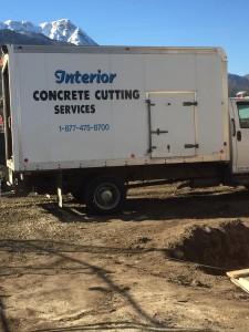 Interior Concrete truck